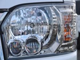 ダークプライムIIなので、LEDヘッドライトが標準装備です!