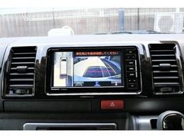 新メーカーオプション「パノラミックビューモニター」細かく車の位置を把握出来るのでバック駐車も楽々です!