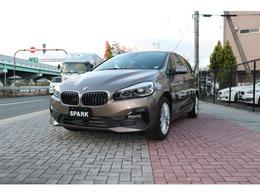 BMW 2シリーズグランツアラー 218dグランツアラー LEDライト衝突軽減ブレーキ純正ナビBカメラ