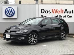 フォルクスワーゲン ゴルフヴァリアント TSI ハイライン テック エディション 禁煙車 ワンオーナ- 新車保証継承 ナビ ETC