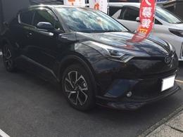 トヨタ C-HR ハイブリッド 1.8 G LED エディション 黒革 ナビTV Bモニター シートヒーター
