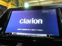 クラリオン9型ナビ♪ フルセグ BTA 録音 DVD再生 USB等装備充実ですね♪