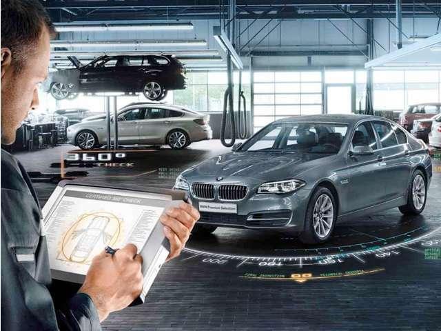 Bプラン画像:360度の車両チェック、安心の品質。100項目にも上るポイントを徹底的にチェック。エンジン、トランスミッション、サスペンションはもちろんのことマフラーや電気系統やコンピュータシステムなどを詳細に点検します。