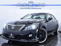 トヨタ クラウンハイブリッド 3.5 黒革 SR 新品フルエアロ 新品ホイール