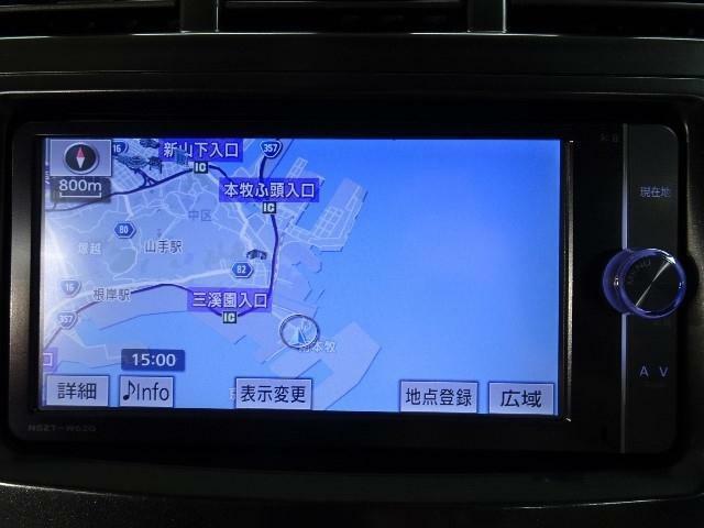 ☆純正・地デジ(フルセグ)内蔵SDメモリーナビ&バックカメラ付きです。DVD映像再生も可能です。