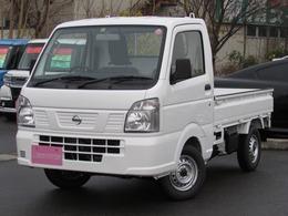 日産 NT100クリッパー 660 DX 農繁仕様 4WD 届出済み未使用車 5速MT車 デフロック