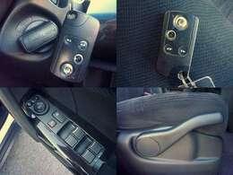 ホンダ純正スマートキーシステム!鍵を刺さなくてもエンジンの始動が可能です!運転席ハイトアジャスター付き!