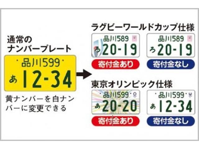 Aプラン画像:☆今、流行の白希望ナンバー!お好きな数字もお選びできます♪