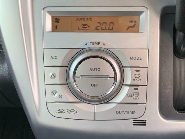 ボタン操作で簡単に設定できるオートエアコン☆