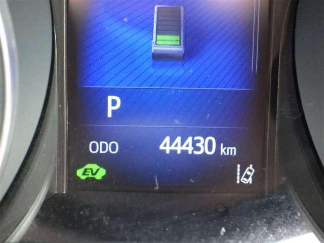 総走行距離です。トヨタロングラン保証で安心!