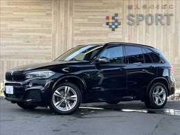 BMW X5 xドライブ 35d Mスポーツ 4WD サンルーフ アクティブクルーズ 茶革