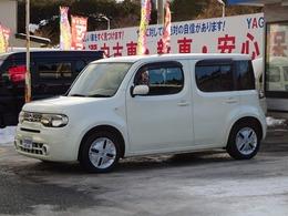 日産 キューブ 1.5 15X FOUR Mセレクション 4WD ナビ TV バックカメラ ETC