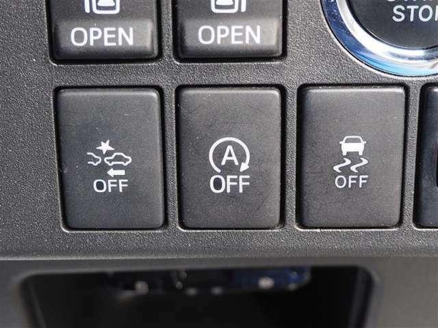 操作しやすい電動スライドドア、アイドリングストップOFF、スマアシOFFなどの各種スイッチ類です。