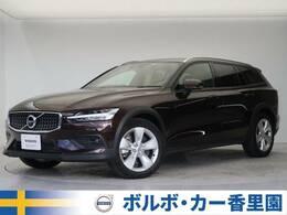 ボルボ V60クロスカントリー T5 AWD 4WD 認定中古車・茶革シート・インテリセーフ