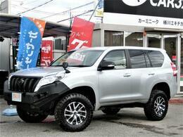 トヨタ ランドクルーザープラド 2.8 TX ディーゼルターボ 4WD リフトUP新品17インチAWMTタイヤ寒冷地
