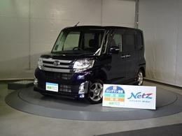 ダイハツ タント 660 カスタム X 4WD メモリーナビ・スマートキー・LED