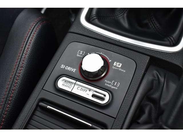 SIドライブ装備で、走行状況やお好みに応じたモードでの走行が可能となっております♪