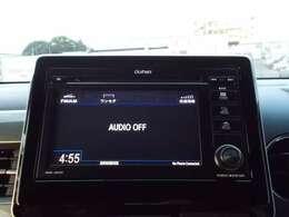 センターパネルにスッキリと収まった純正オーディオ(CD再生、AM/FMチューナー)です!お気に入りの音楽・ラジオ番組を聞きながら楽しいドライブをお楽しみ下さいね♪
