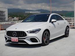メルセデスAMG CLAクラス CLA 45 S 4マチックプラス 4WD AMGパフォーマンス&アドバンスP SR 1オナ