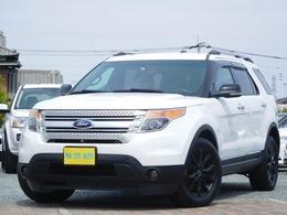 フォード エクスプローラー XLT 4WD 全国保証 禁煙 Pシート ナビ 黒18AW