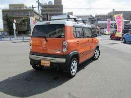 ■車体色:パッションオレンジ/ホワイトII