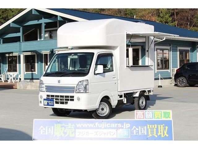 H30 キャリィ 新規架装 移動販売車 入庫致しました☆