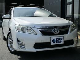 トヨタ カムリハイブリッド 2.5 レザーパッケージ CARGO1年保証付 レザーシートヒーター