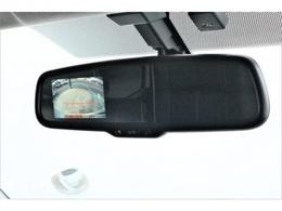 バックカメラ付き自動防眩インナーミラー