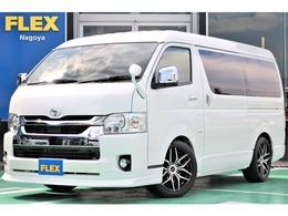 トヨタ ハイエース 2.7 GL ロング ミドルルーフ FLEXベッドキット内装架装Ver1.5カスタム済