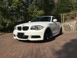 BMW 1シリーズクーペ 135i 6速MT 黒革 31000キロ 地デジ Bカメラ
