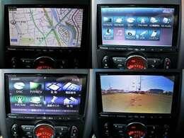 社外HDDナビを装備!地デジ DVD再生 Bluetoothオーディオ 音楽録音 もちろんバックモニター付きで駐車も楽ちんです♪
