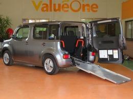 日産 キューブ 1.5 15X チェアキャブ スロープタイプ ベンチシートタイプ 福祉車 スローパー 1年保証
