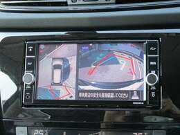 「いつでもLink」対応純正メモリーナビ☆DVD再生・録音・フルセグ付の多機能タイプ!(MM319D-W)周囲を確認したり、狭い道でのすれ違い時に、助手席側下方も確認できる安心のアラウンドビューモニター付