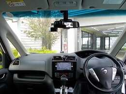 視界も良く運転しやすいですよ!せまい道でもご安心ください!
