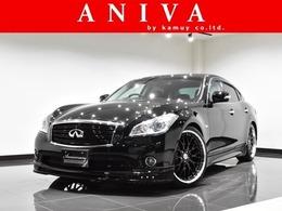 日産 フーガ 2.5 250GT タイプP 黒革BOSE新品車高調21AWフルエアロ1オナ