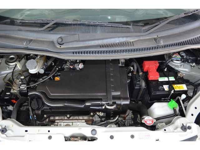 タイミングチェーンのエンジンです。