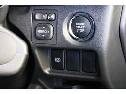 メーカーオプションのプッシュスタート&スマートキーを標準装備!