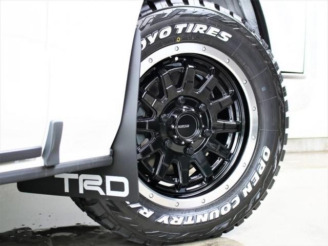 ESSEX16インチアルミホイールとTOYOオープンカントリータイヤセット!