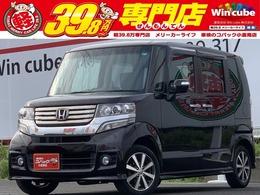 ホンダ N-BOX 660 カスタムG ワンオーナー・禁煙車・キーレス付