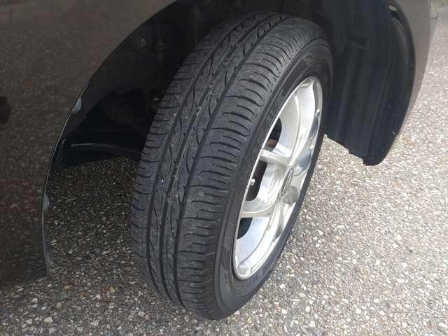 タイヤもしばらくそのままお使い頂けます◎
