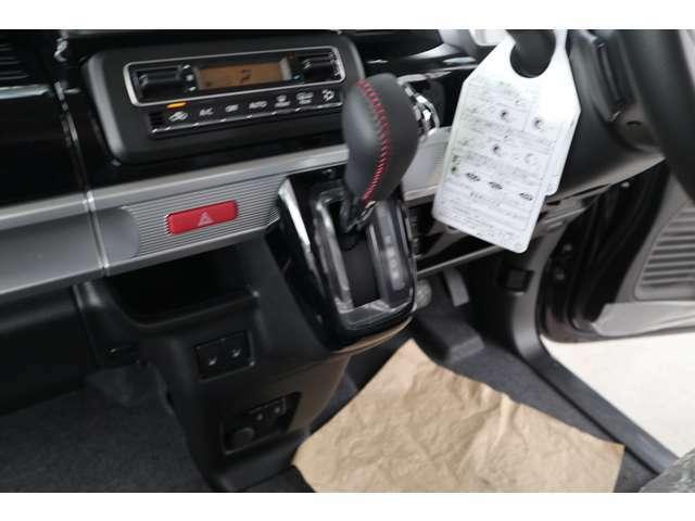 低速域での加速性能と高速での燃費性能を両立したCVTマチックです。