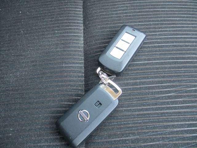インテリジェントキ-を持つているだけで簡単に始動 ドアの開閉出来ますよ。