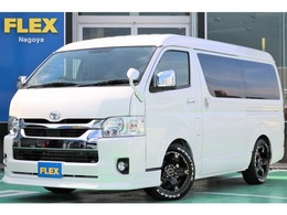 トヨタ ハイエース 2.7 GL ロング ミドルルーフ FLEXベットキット内装架装Ver1.5カスタム済