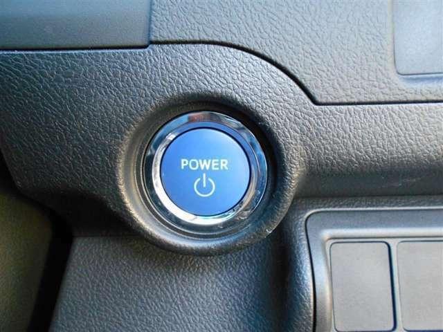 ボタンを押すだけで一発始動!プッシュスタート式