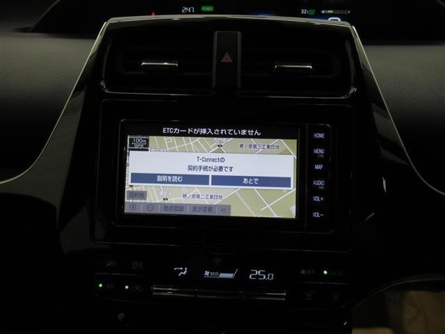 トヨタ純正の「T-Connectナビ」装備です。メディアプレイヤー接続可能ですのでお好きな音楽を聴くことも可能です。