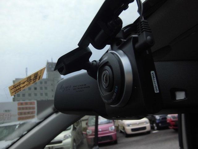 ドライブレコーダー設置済みの車になります。いつでも録画できているので、何かあったときにも安心です。