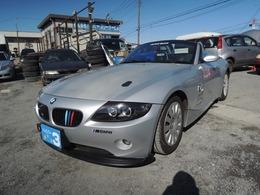BMW Z4 ロードスター2.2i スパルコバケットシート 社外マフラー