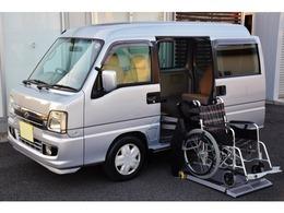 スバル サンバーディアスワゴン 車いす1基仕様車 福祉車輌 電動リフター /リモコン/禁煙車/ナビ&TV/トランスケア
