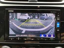 バックカメラ装着車です!!モニターで確認できるので後方もしっかり確認ができます。