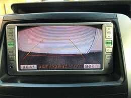 運転席から画面上で安全確認ができます。駐車が苦手な方にオススメな機能です♪